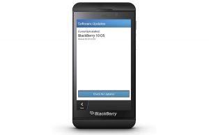 BlackBerry 10 OS actualizado a v10.0.10.85, actualización de implementación OTA