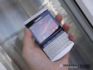 BlackBerry 9980, una combinación de RIM y Porsche Design