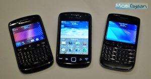 BlackBerry Bold 9790, Curve 9350 CDMA, Curve 9380 Práctica [Pictures]