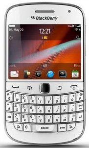 BlackBerry Bold 9900 ahora disponible en blanco