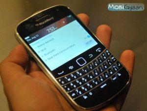 BlackBerry Bold 9900: fotos prácticas