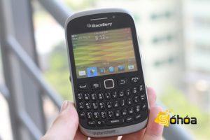 BlackBerry Curve 9320 visto en la naturaleza