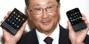 BlackBerry Passport y Classic revelados por el CEO Jon Chen