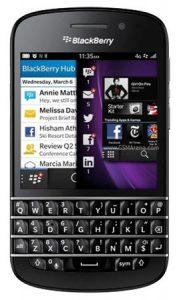 Blackberry Q10 listo para pre-pedido en India