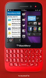 Blackberry Q5 se lanzará en India el 16 de julio