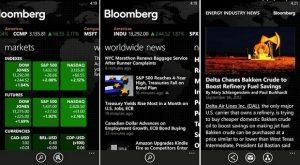 Bloomberg Hub llega en exclusiva a los smartphones Nokia Lumia