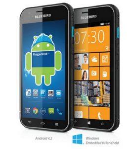 Bluebird BM180 revelado: teléfono personalizable con opción de sistema operativo Windows / Android