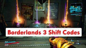 Códigos de turno de Borderlands 3 y cómo canjear 2020