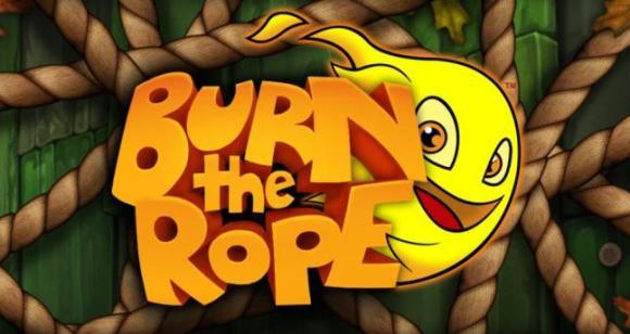 pancarta de quemar la cuerda