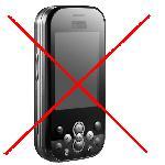 prohibición de móvil