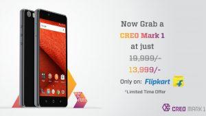 CREO Mark 1 obtiene un recorte temporal de precio de ₹ 6000;  Ahora disponible por ₹ 13,999 en Flipkart
