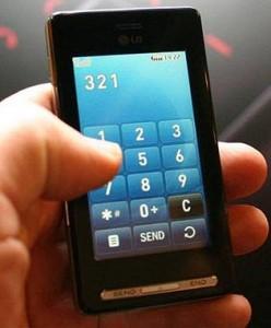Cada uno de cada tres teléfonos móviles es un teléfono de pantalla táctil