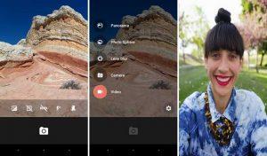 Cámara de Google para dispositivos Android que ejecutan KitKat lanzada en Google Play Store
