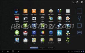 Capturas de pantalla de la interfaz de usuario filtradas de la próxima tableta HTC Puccini