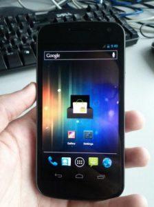 Capturas de pantalla filtradas y video de Nexus Prime con Android Ice Cream Sandwich