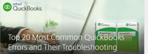 ¡Los 6 errores principales de QuickBooks y su solución perfecta!  Guía completa