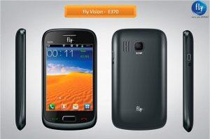 Característica Rich Fly Vision E370 móvil lanzado para Rs.  5.099