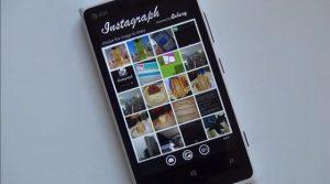 Cargue imágenes en Instagram a través de Instagraph en Windows Phone