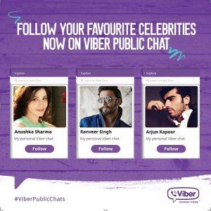 Viber lanza el servicio de chats públicos para conectarse con celebridades y personalidades