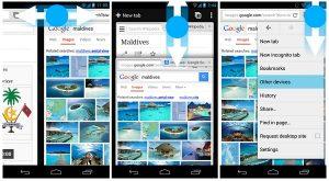 Chrome para Android recibirá soporte de gestos pronto