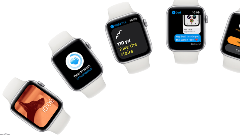 lavarse las manos con apple watch