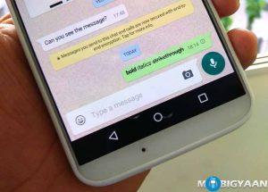 Cómo agregar textos en negrita, cursiva y tachado en WhatsApp [Beginner's Guide]