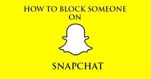 Cómo bloquear a alguien en Snapchat [Guide]