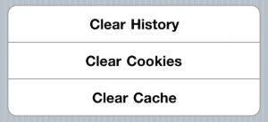 Cómo borrar el historial de navegación en iOS [Beginner's Guide]