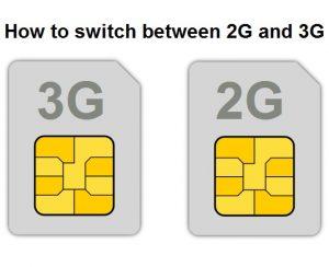 Cómo cambiar entre 2G y 3G [Android Guide]