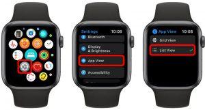 Cómo cambiar rápidamente el diseño de la aplicación en su Apple Watch