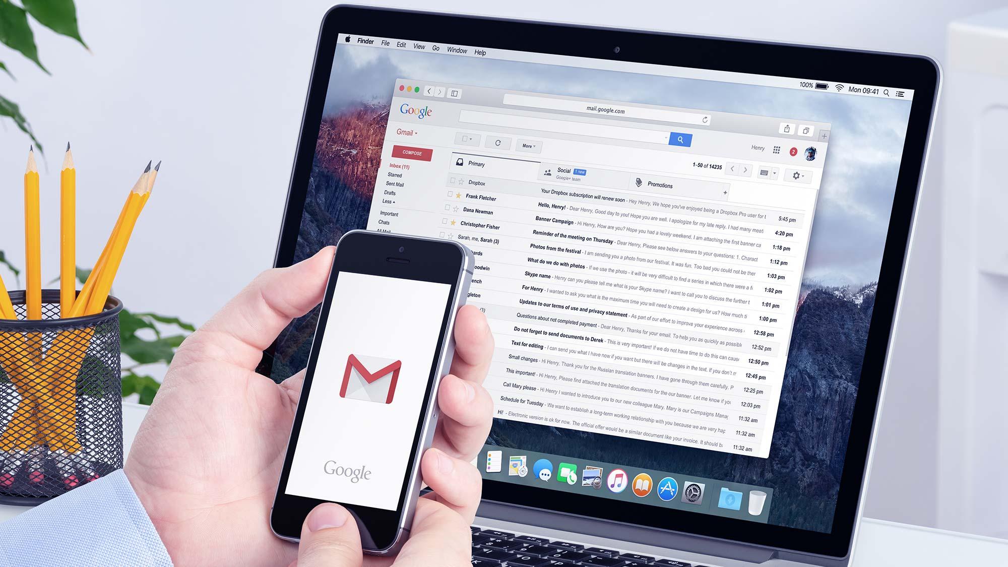 Cómo cambiar el nombre en Gmail