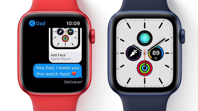 compartir caras de apple watch watchos 7