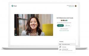 Cómo compartir la pantalla de su escritorio en Google Meet