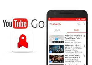 Versión beta de YouTube Go con soporte para visualización de videos sin conexión lanzada en India