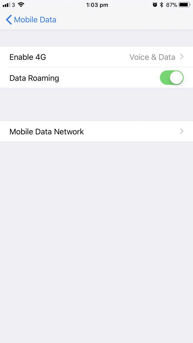 Cómo saber si un iPhone está bloqueado o desbloqueado: Configuración