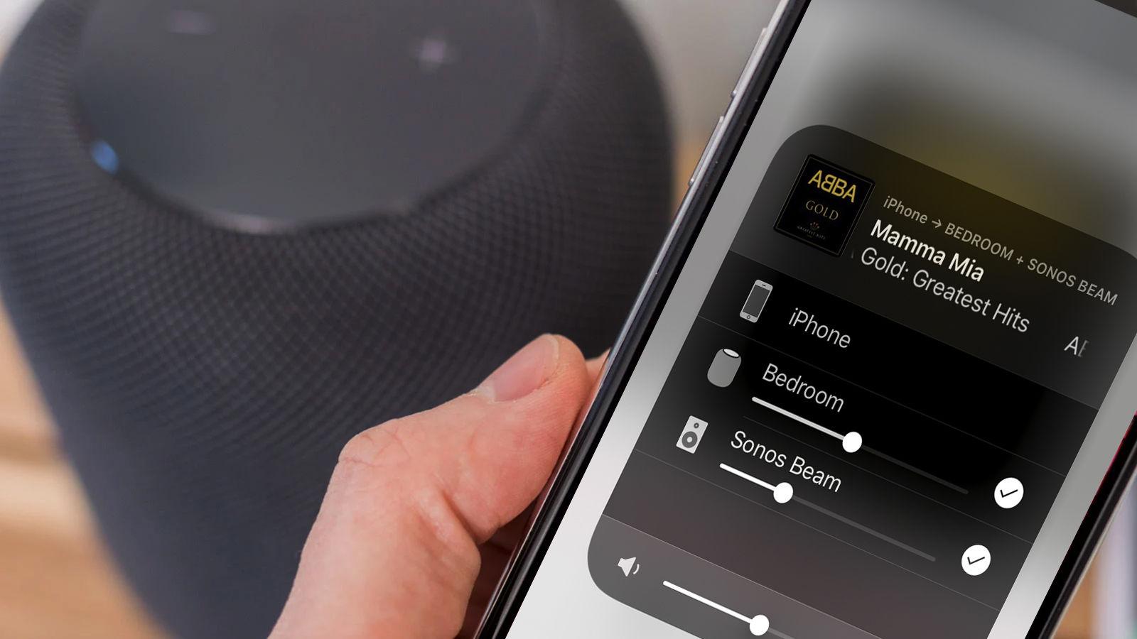 Cómo conectar un HomePod a un Sonos u otro altavoz inalámbrico