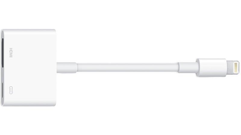 Cómo conectar un iPad o iPhone a un televisor: Adaptador AV Lightning de Apple