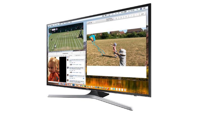 conectar mac a la pantalla del televisor