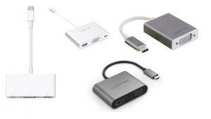 Cómo conectar una MacBook o MacBook Pro USB-C a un proyector, TV o pantalla VGA