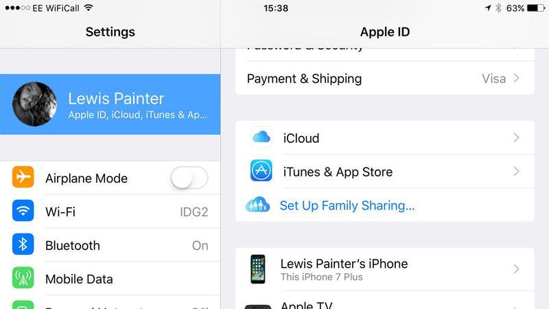 Cómo configurar Compartir en familia en iPhone: Configuración