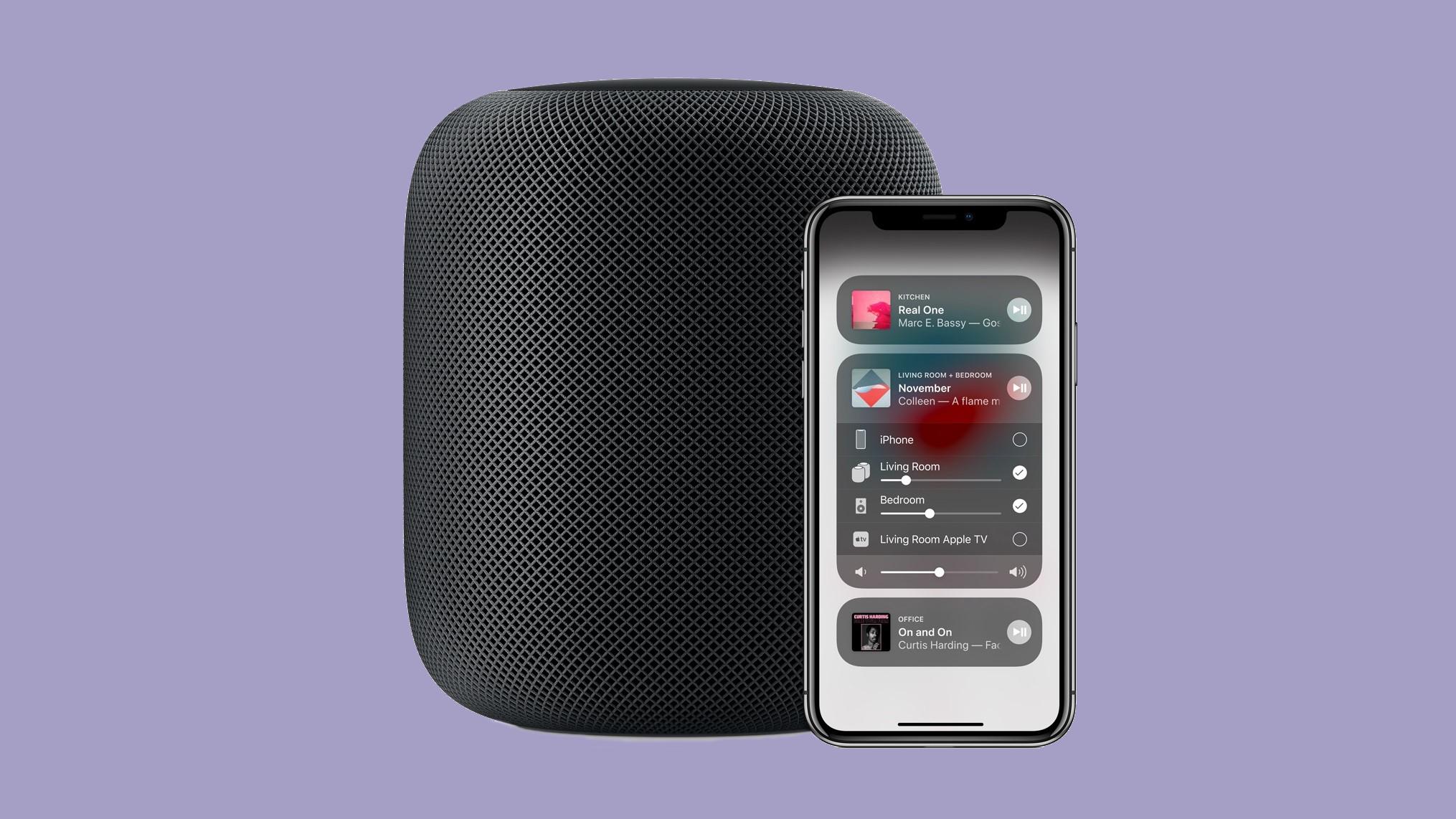 Configuración multisala de Apple HomePod