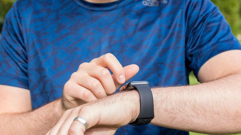 cómo configurar ganar competencia de Apple Watch