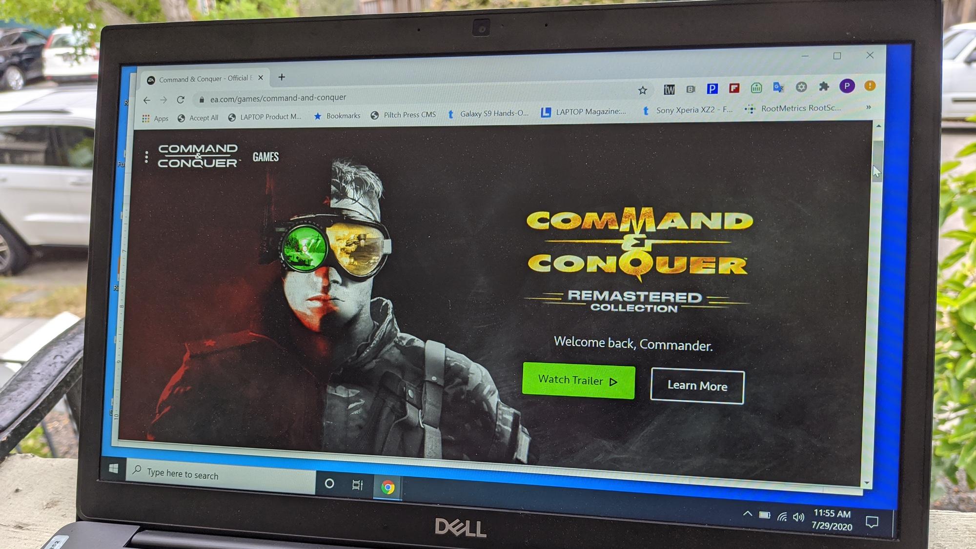 cómo descargar Command & Conquer