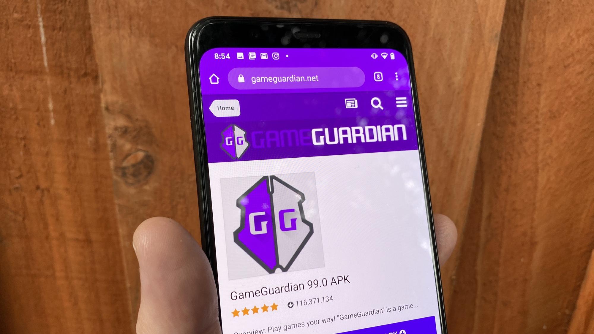 Cómo descargar GameGuardian