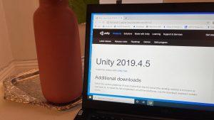 cómo descargar Unity