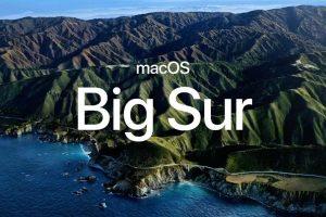 Apple anuncia macOS 11 Big Sur con un diseño renovado