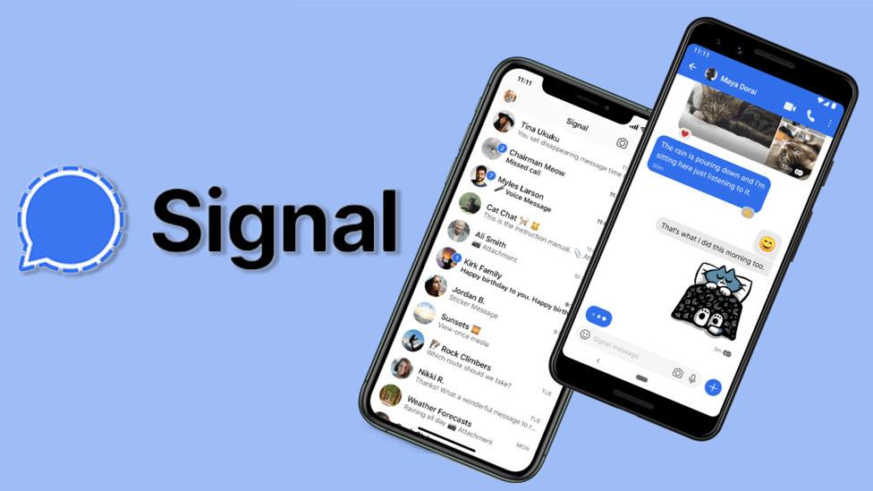 aplicación de señal