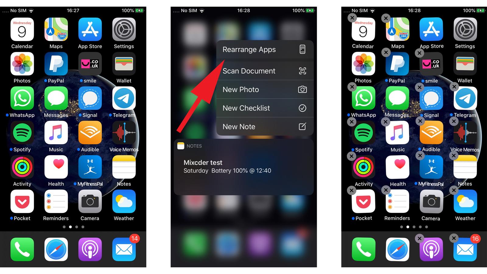 Cómo eliminar aplicaciones en iPhone y iPad: iOS 13