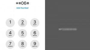 Cómo encontrar el número IMEI de un iPhone
