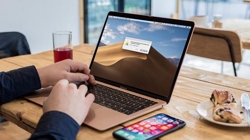 detener la advertencia del buscador eliminar en mac